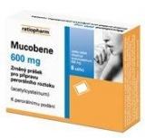 Mucobene 600mg gra.10x3gm/600mg