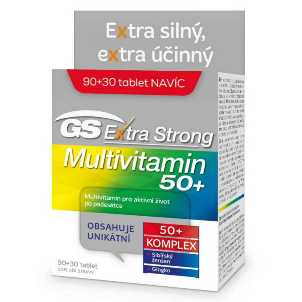 GS Extra Strong Multivitamin 50+ tbl.90+30
