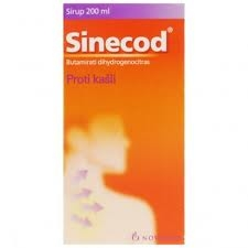 SINECOD 1.5MG/ML SIR.1X200ML/300MG