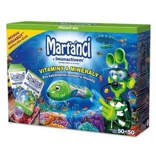 Walmark  Martanci Imunactiv Mix 50+50 Aquabot