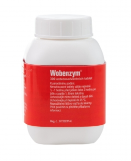 Wobenzym 300 enteros.tablet