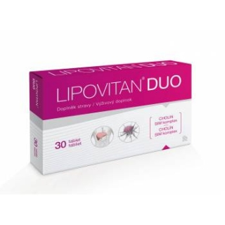 Lipovitan DUO 30 tablet